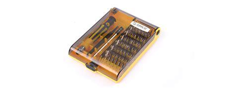 Orico St3 Screwdriver Set Obeng Set Teknisi 42 In 1 orico screwdriver set tool kit st3 price in pakistan