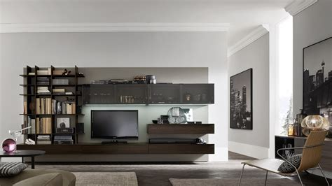 composizioni soggiorno moderni orme soggiorno composizione soggiorno componibili