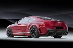 Bentley Kit Vorsteiner Previews Cool New Bentley Continental Gt