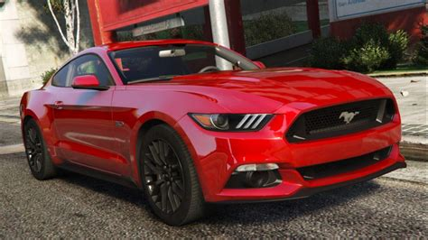 Gta 5 Autos Mustang by 2015 Ford Mustang Gt Add On Gta5 Mods