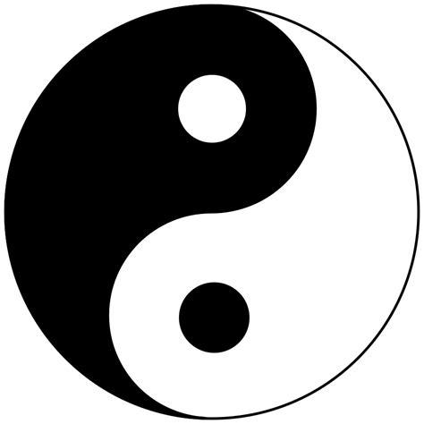 yin  logo vector clipart
