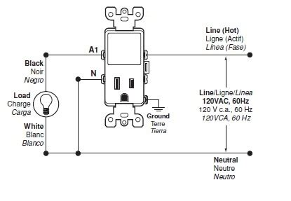wiring for the t5225 switch leviton knowledgebase