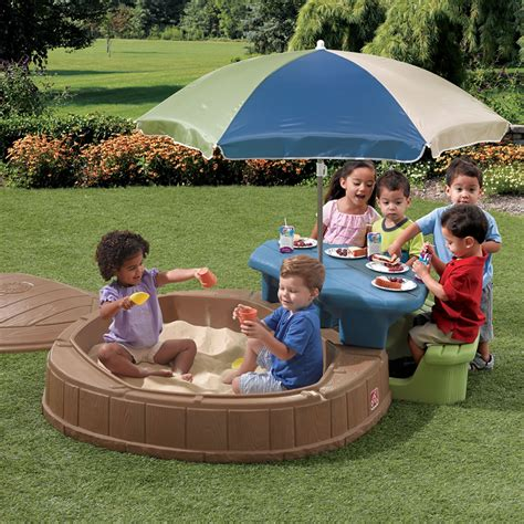 step2 naturally playful sand and water table naturally playful summertime play center sand
