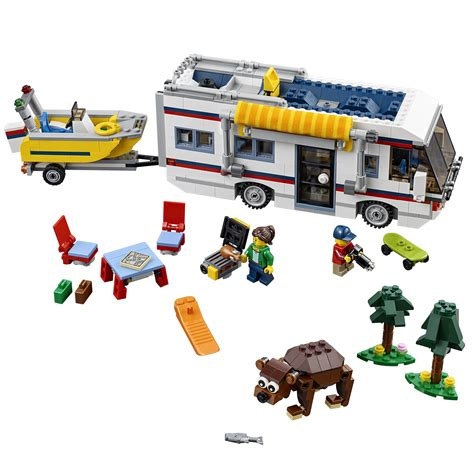 Md03 3in1 Boys Set lego creator vacation getaway 3 in 1 cer summer home and yacht 31052 ebay