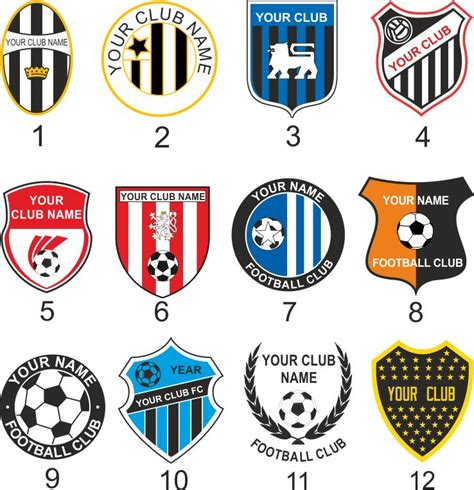 football team logo template team badge template 41