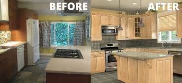 Kitchen Makeover Ideas by Kitchen Makeover Quick Diy Projects Before And After