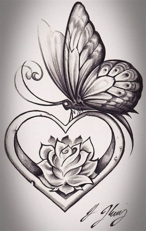 Two Faces And A Vase Butterfly Tattoos And Designs Page 55