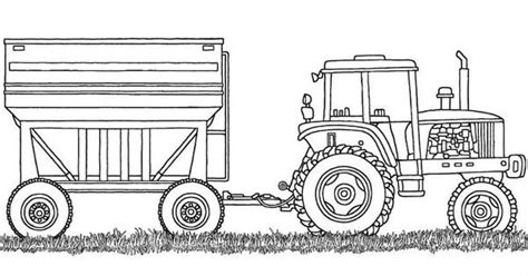 farm equipment coloring sheet coloring pages pinterest