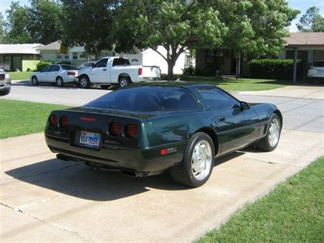 automobile air conditioning service 1995 chevrolet corvette free book repair manuals buy used 1995 polo green chevrolet corvette coupe with 52 000 orig miles sun 174 roof in haltom