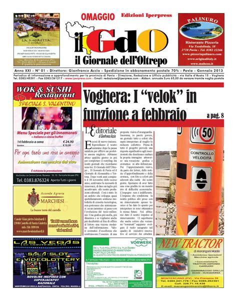 la provincia di pavia giornale calam 233 o il giornale dell oltrepo n 176 01 gennaio 2013