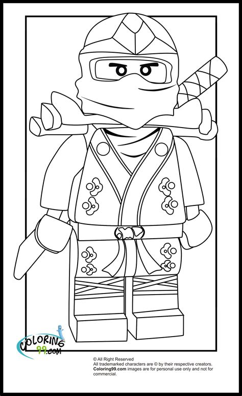 free coloring pages of ninjago lloyd garmadon