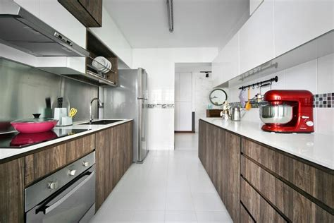Apartment Galley Kitchen Ideas top 10 hdb homes that look bigger than they really are