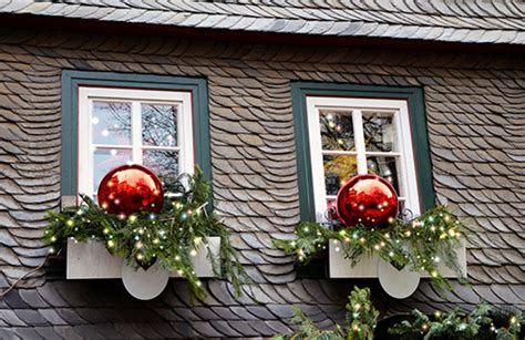last minute christmas window decoration ideas