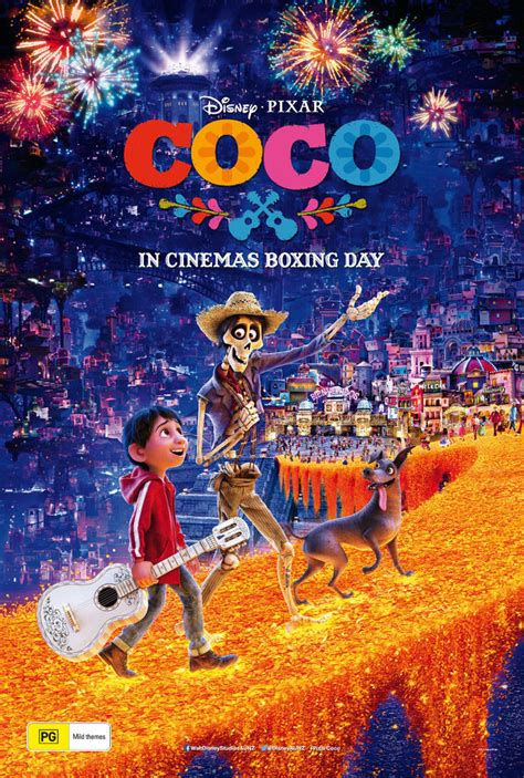 film coco uk coco movie disney pixar film poster print t994 ebay