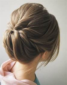 easy and pretty chignon buns hairstyles you ll to try