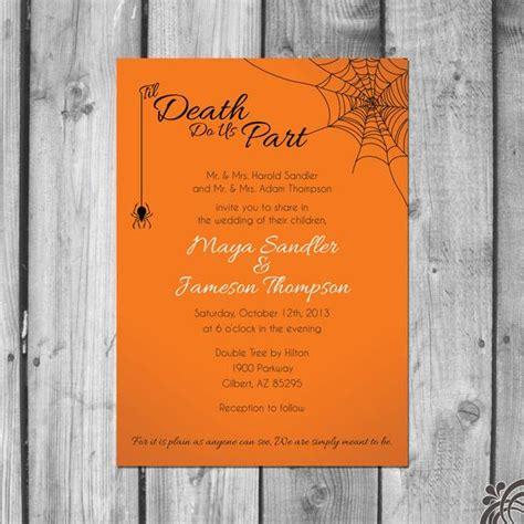 themed wedding invitations set
