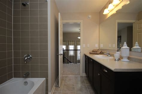 tamarack homes charleston model home traditional bathroom ottawa by tamarack homes