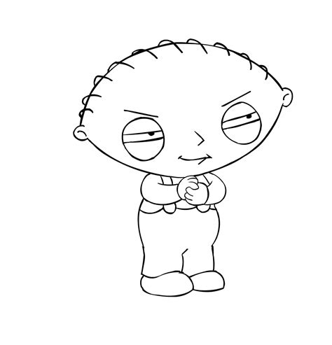 free stewie coloring pages