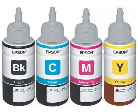 Epson Tinta Refill Cyan T6642 C Epson T664 Ink All Colors T6641 B T6642 C T6643 M T6644 Y