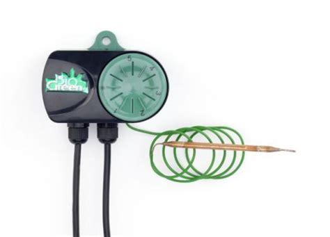 Heizmatte Mit Thermostat 200 by Bio Green Heizmatte 100 X 200 Cm Mit Thermostat Und 300 W