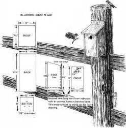 Bluebird Houses Plans Bluebird House Plans Critter Crafts