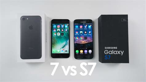 Samsung Iphone 7 iphone 7 vs samsung galaxy s7 speed test and comparison