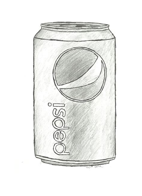Sketches I Can Draw by Pepsi Can By Booklover1997 On Deviantart