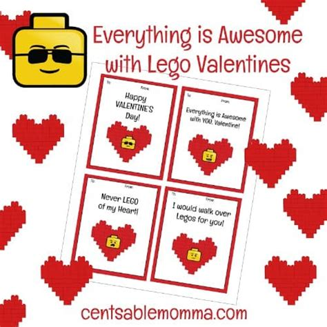 Smart And Final Gift Card Mall - free printable lego valentine s day cards centsable momma