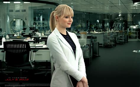 emma stone gwen stacy emma stone as gwen stacy wallpapers hd wallpapers id