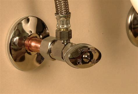 Installing Shutoff Valves At The Home Depot Bathroom Water Shut Valve