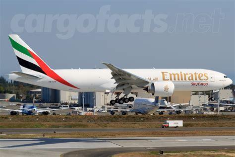 emirates cargo emirates skycargo s latest 777f cargo facts