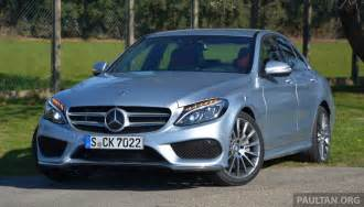 driven w205 mercedes c class in image 267722