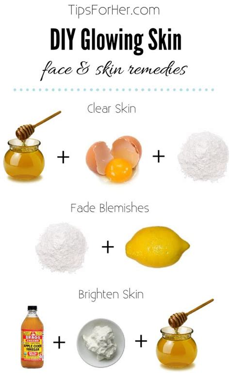 glowing skin remedies