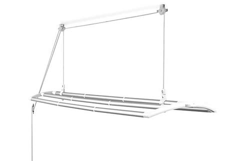 Ceiling Mounted Drying Rack - ceiling mounted laundry drying rack by the new clothesline