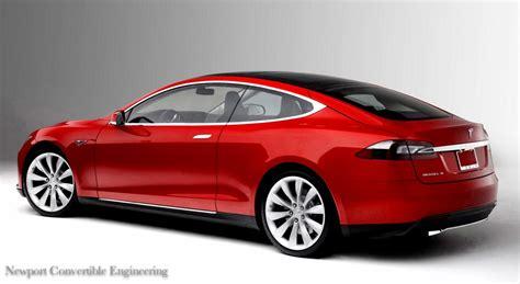 Tesla Model 2 Tesla Model S Coupe Newport Convertible Engineering