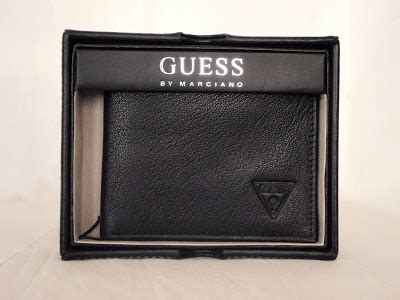 Ready Sale Fossil Emerson Trifold Wallet Black Leather Original boutique malaysia guess mens wallet bifold item 90