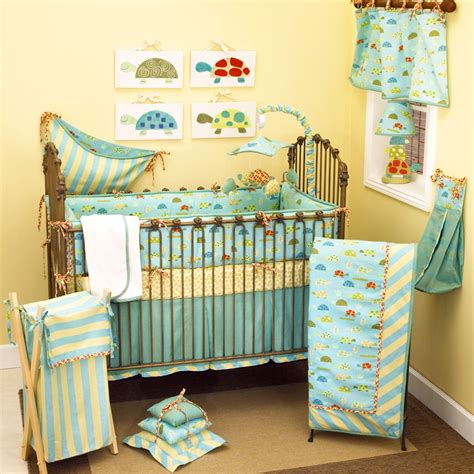 Turtle Crib Bedding Set Trendy Baby Boys Bedding Set Inspirations Colorful Turtle Themed Baby Boys Bedding Set