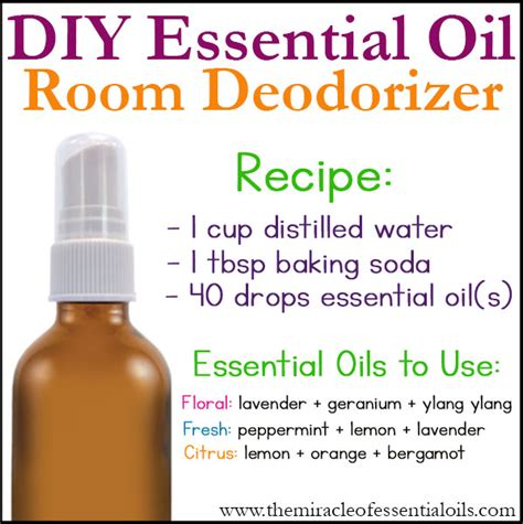 how to make a room spray with essential oils diy essential room deodorizer the miracle of essential oils