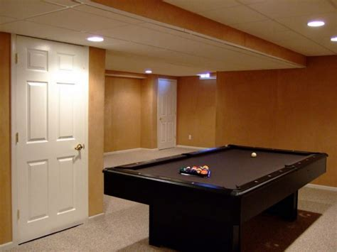 basement lighting ideas low ceiling rooms