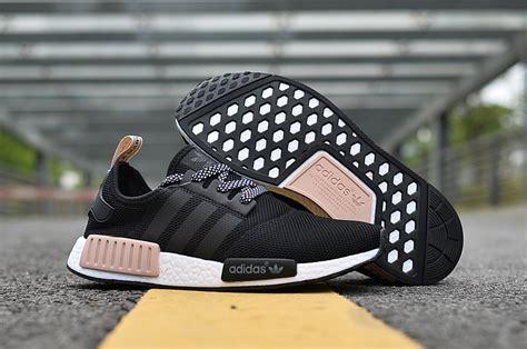 hot selling adidas nmd  runner black pink white girls