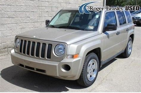 tan jeep patriot find used 09 jeep patriot sport tan automatic auxiliary