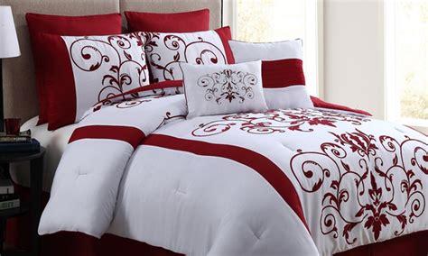 comforter set deals cassandra 8 piece comforter set groupon goods