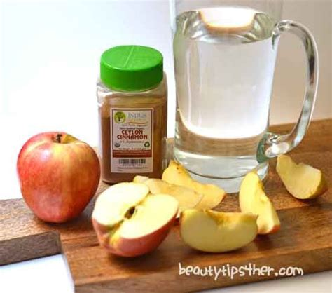 How To Make A Detox Drink With Apple Cider Vinegar by How To Make Detox Apple Cinnamon Metabolism Water Zero