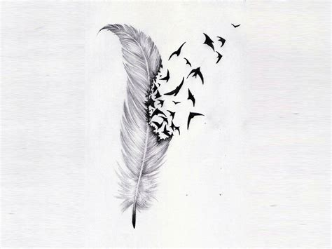 owl feather tattoo designs feather images designs