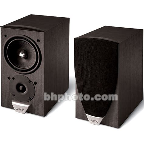jamo e825 bookshelf speaker black ash e825ba b h photo
