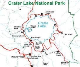 crater lake oregon map crater lake national park travel guide at wikivoyage