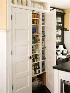 pantry organization ideas use the space between wall