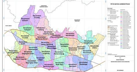 kotakita kota bandung meliputi 30 kecamatan