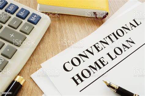 conventional home loan form    stock photo