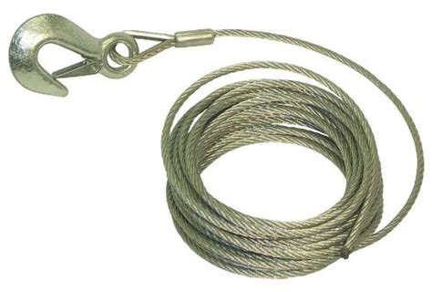 invincible boat parts invincible marine trailer winch cable 3 16 inches by 25